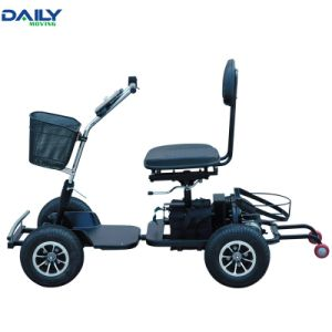 Single Seat Easy Folding Electric Golf Cart with Strong Power 24V 1000W Motor pictures & photos