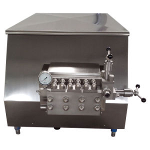 Food Sanitary Stainless Steel 5000L/H Fresh Juice Homogeniser pictures & photos