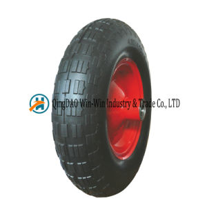 PU Foam Wheel for Wheelbarrow (4.80/4.00-8) pictures & photos