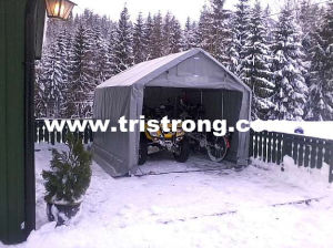 Tarpaulin Shelter, Cheap House Building, Small Portable Tent (TSU-250A) pictures & photos