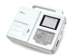Three Channel Electrocardiograph ECG Machine with CE pictures & photos