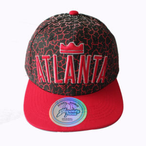 3D Embroidery Snapback Cap with Sublimation Printing on Pattern (GKA15-F00036) pictures & photos