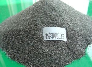 Abrasives & Refractory Raw Material Grain Brown Fused Alumina with Al2O3 95% Min pictures & photos
