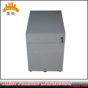 Newest Steel Mobile Filing Cabinet with 3 Drawers pictures & photos