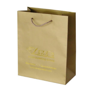 Paper Gift Bag for Jewelry (XG-PB-063)