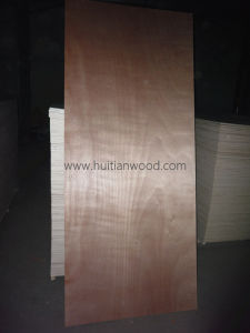 Okume Fancy Door Skin Plywood for Furniture and Decoration pictures & photos