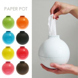 Fashion Bomb Shape Paper Holder Home Decor Paper Pot Toilet Bath Table Tissue Holder Dispenser Box Cover Case pictures & photos