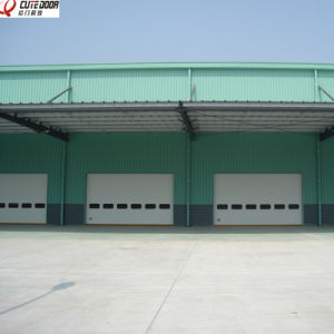 High Quality Industrial Electric Sectional Sliding Overhead Garage Door pictures & photos