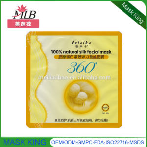 100% Nature Silk Firming/Anti-Wrinkle Facial Mask pictures & photos