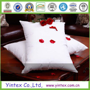 Soft and Comfortable White Goose Down Pillow pictures & photos