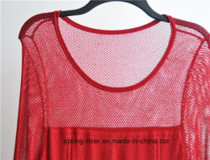 63%Rayon37%Nylon Women Knit Sweater Dress pictures & photos
