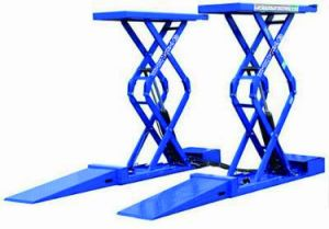 Four Cylinder Hydraulic Double Platform Scissor Lift pictures & photos