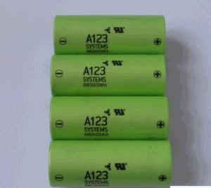 A123 Anr26650 2300mAh LiFePO4 Lithium Li Ion Battery Cell pictures & photos