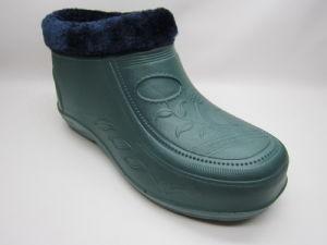 OEM Color Lady EVA PVC Snow Boots with Fur (21fv1108) pictures & photos
