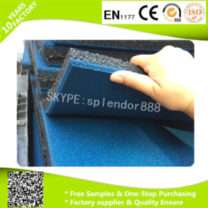 Made in China Cheap Factory EPDM Speckels Rubber Floor Tile Gym pictures & photos