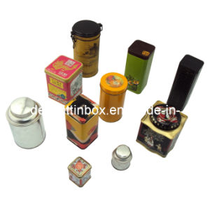 Tea&Coffee Tin/Metal Box/Can/Case (DL-CT-0002)