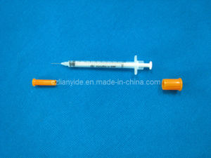 Disposable Insulin Syringe with Ultra-Fine Needle