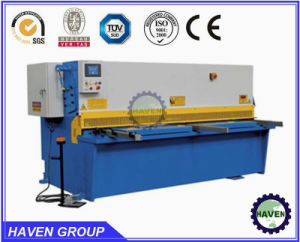 Hydraulic Guillotine Shearing and Cutting Machine QC11Y-20X3200 Guillotine Shearer pictures & photos
