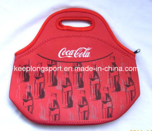 2016 New Design Fashionable Neoprene Tote Picnic Lunch Bag for Food and Drink