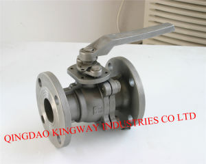 Stainless Steel 2-PC Flanged Ball Valve pictures & photos