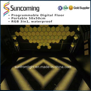 LED Stage Wedding Digital P62.5 Dance Floor/LED Dance Floor Hire pictures & photos