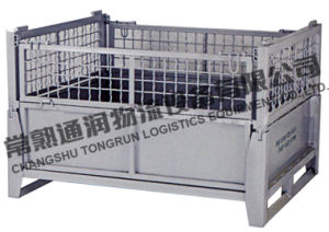 Folding Steel Wire Mesh Container (SWK8015) pictures & photos