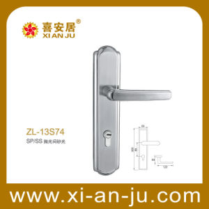 High Quality Door Hardware Stainless Steel Handle Door Lock (ZL-13S74)