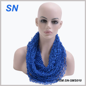 Factory Direct and Wholesale Women Scarf Infinity (SN-SMS010) pictures & photos