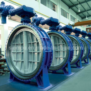 Triple Offset Metal Seal Flange Butterfly Valve