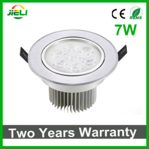 Good Quality Indoor 7W Recessed LED Ceiling Light pictures & photos