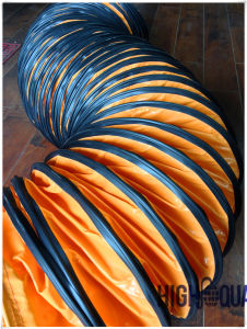 PVC Flexible Stretch Ventilation Hose pictures & photos