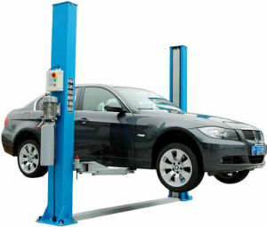 2015 New Car Lift Hydraulic Two Post Carport pictures & photos