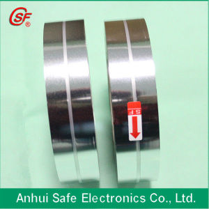 High Quality Low Dissipation Al Zn Metallized Polypropylene Film for Capacitor Use with Central Sided Margin pictures & photos