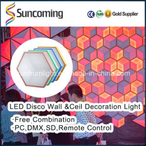 Indoor Decorative 3D Vision Artistic Effect Wall/Ceiling Background LED Panel pictures & photos