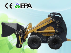 Mini Skid Steer Loader with 4 in 1 Bucket pictures & photos
