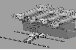 Split Roll Machine