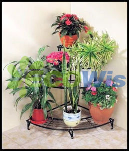 Versatile 3 Tier Corner Plant Stand pictures & photos