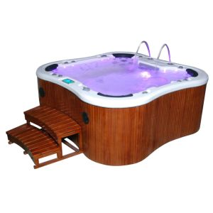 Foot Massage Hot Tub Outdoor SPA with Free Cover, Skirt, Step (JCS-12) pictures & photos