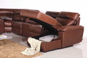 Modern Furniture Design Home Theater Seating (854#) pictures & photos