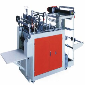 Computer-Controlled Heat-Sealing & Heat-Cutting Plastic Vest Bags Making Machine (WQR500-700L) pictures & photos