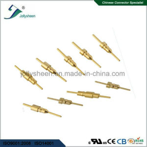 IC Socket Pitch 2.54mm Round Pin L10.0mm Straight DIP  Type with Bar pictures & photos