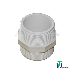 High Quality UPVC Male Couplings (BS) pictures & photos