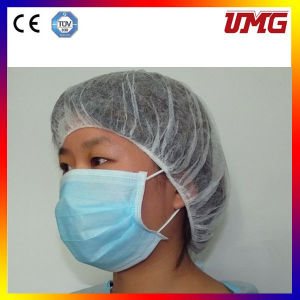 Disposable Dental Non-Woven Ear-Loop Surgical Mask pictures & photos