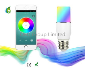 6W Bluetooth 4.0 Phone APP Control Smart LED Bulbs Intelligent Dimmable Party Light pictures & photos