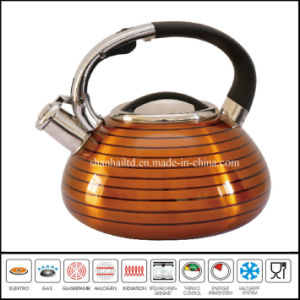 Kitchenware Stainless Steel Whistling Kettle Induction Pot Whistle Kettle pictures & photos