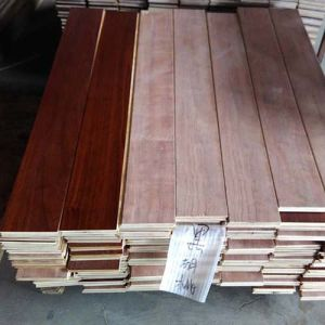 High Quality Black Walnut Parquet Engineered Wood Flooring pictures & photos