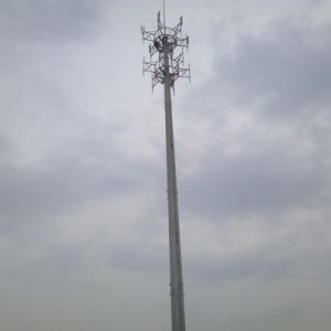 Popular Styles of Steel Tube Telecommunication Pole pictures & photos