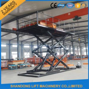 Small Vertical Platform Scissor Lifting Equipment pictures & photos