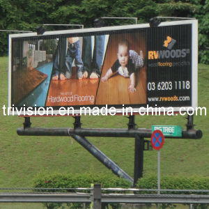 Water Proof Pole Advertising Billboard Prisma Lightbox pictures & photos