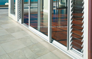 Double Glazing Aluminium Sliding Door in Heavy Duty Systems pictures & photos